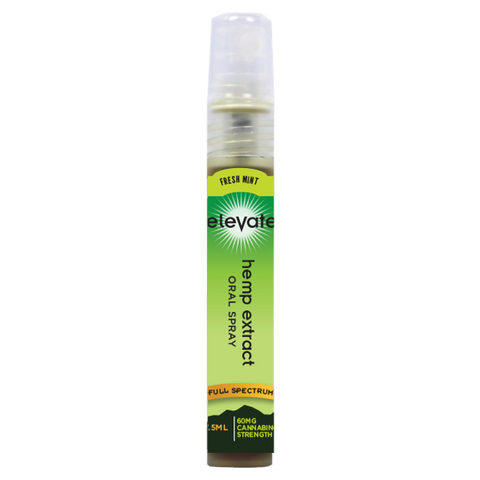 Elevate® HEMP Extract Oral Spray, 60mg HEMP Extract/Bottle, 7.5ml bottle - Strawberry