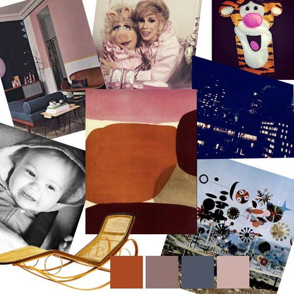 creating a mood board autumn