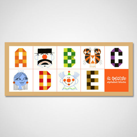 Ed Emberley Alphabet Blocks