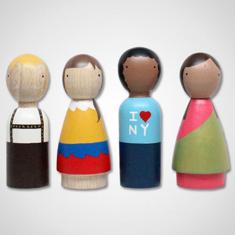 The Children of the World Wooden Dolls