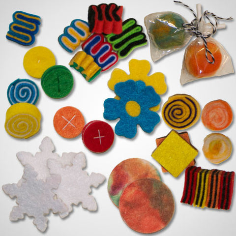 Handmade 'Sweet Tooth' Candy Felt Foods