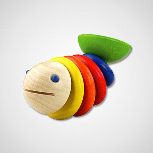 Moby the Fish Rattle Toy