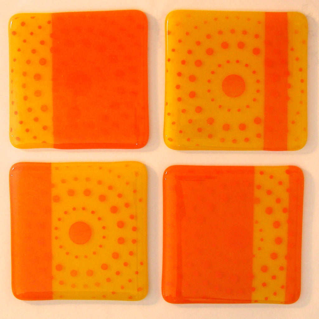 Happy Hour Coasters: Screwdriver