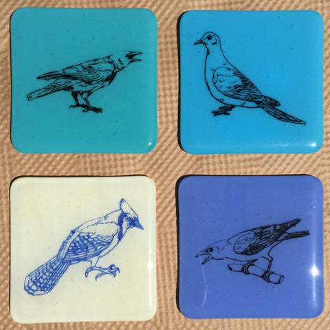 Four Birds Coasters