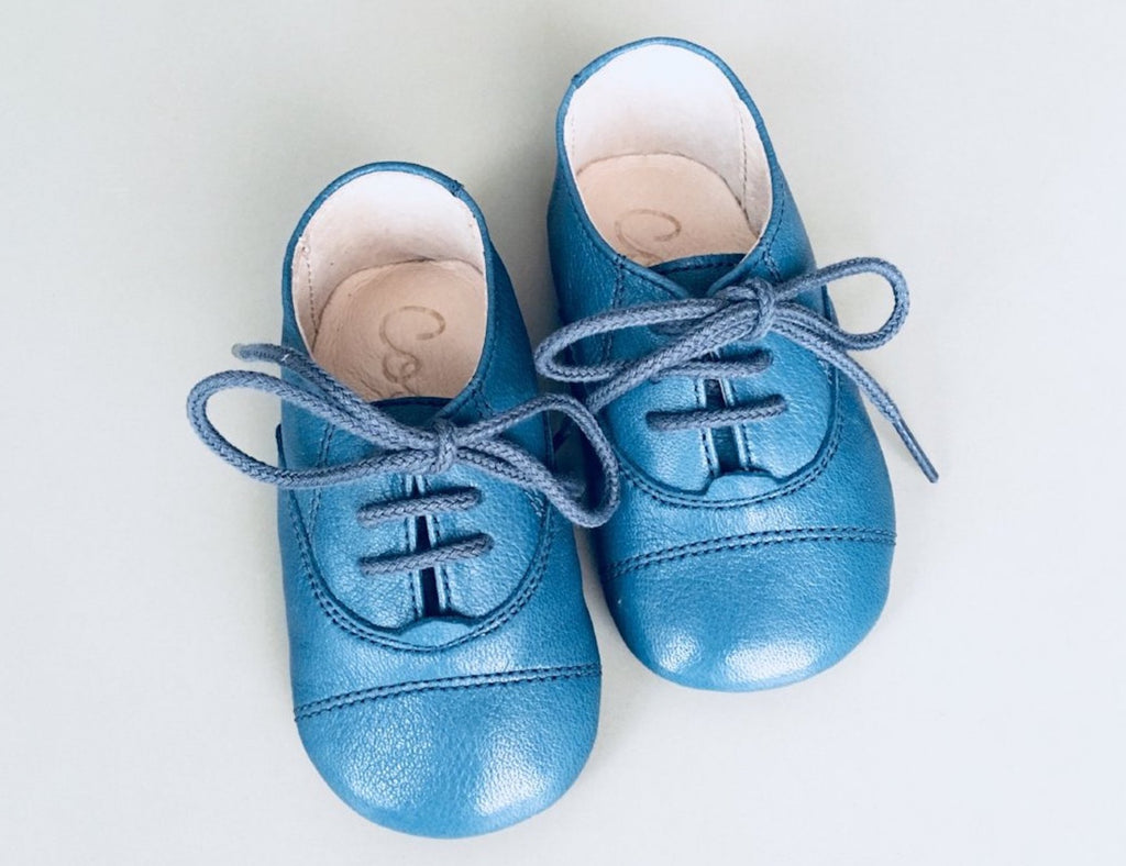 Baby Barefoot Green Blue Coolis
