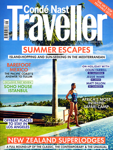 Diane Raulston and DR Fashion is featured in Condé Naste Traveller—June, 2015 Cover