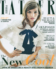 Lolita ruffle bikini by Diane Raulston and DR Fashion is featured in Tatler (UK) magazine—August, 2015