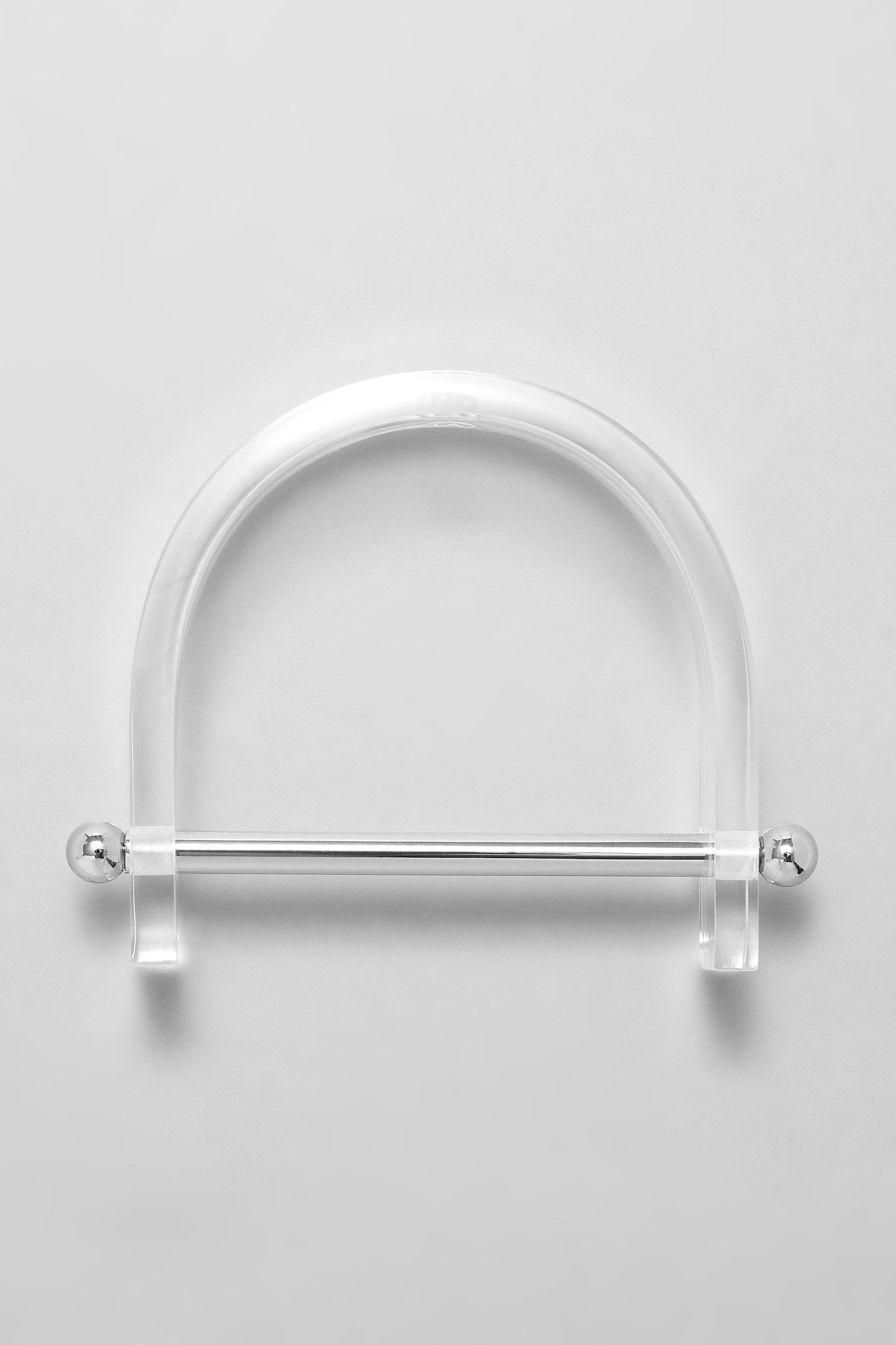 Alpha Bangle - Silver/Clear