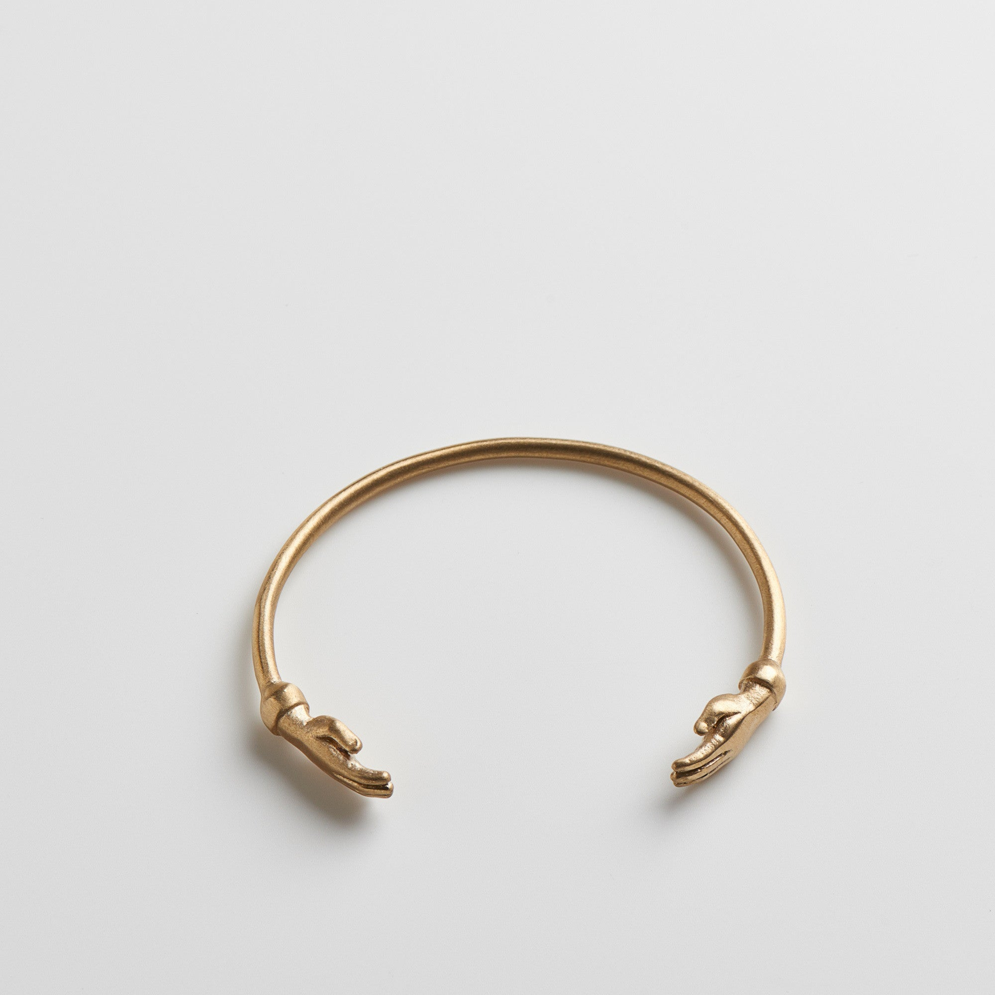 Hand Cuff - Brushed Brass