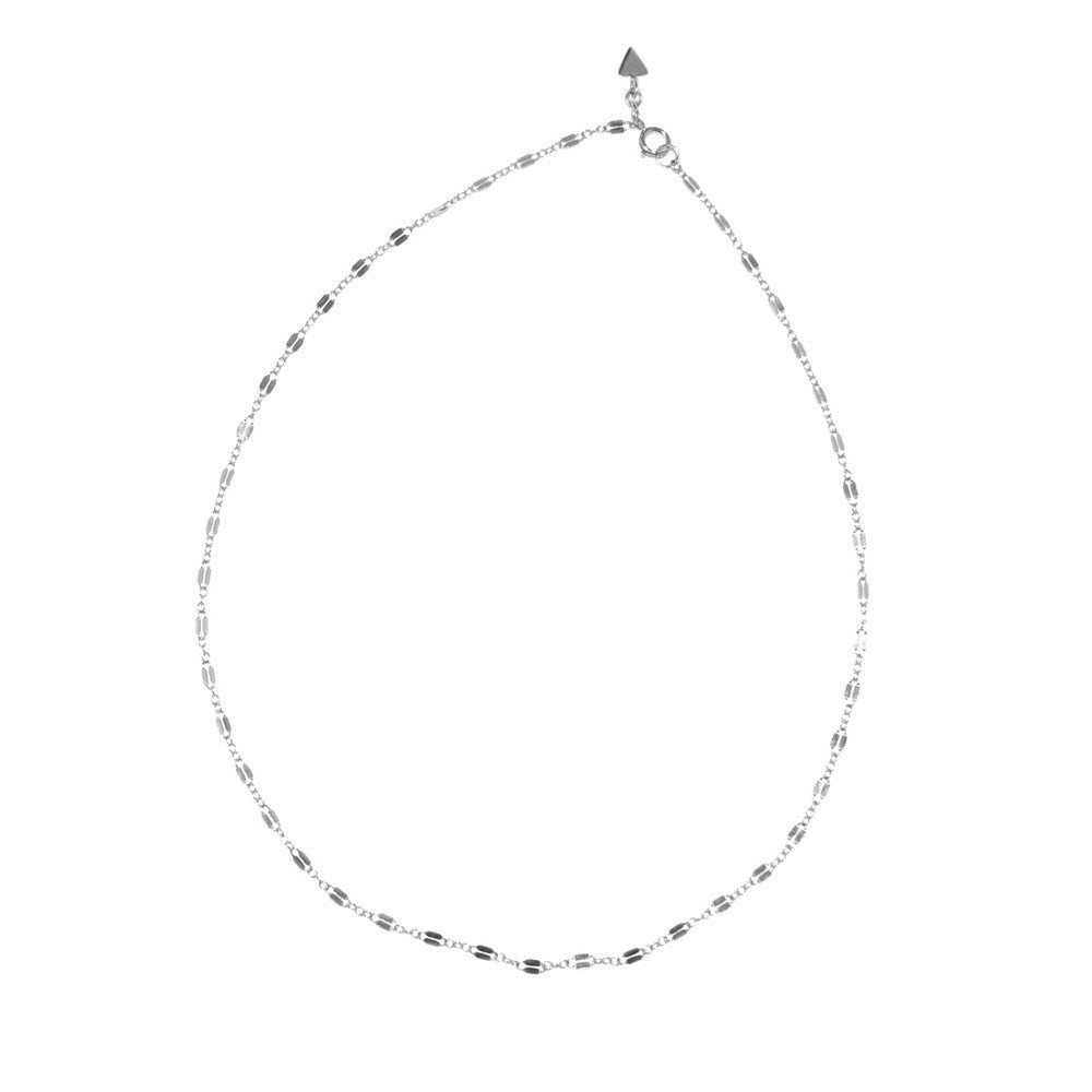 Fancy Chain Necklace - Silver