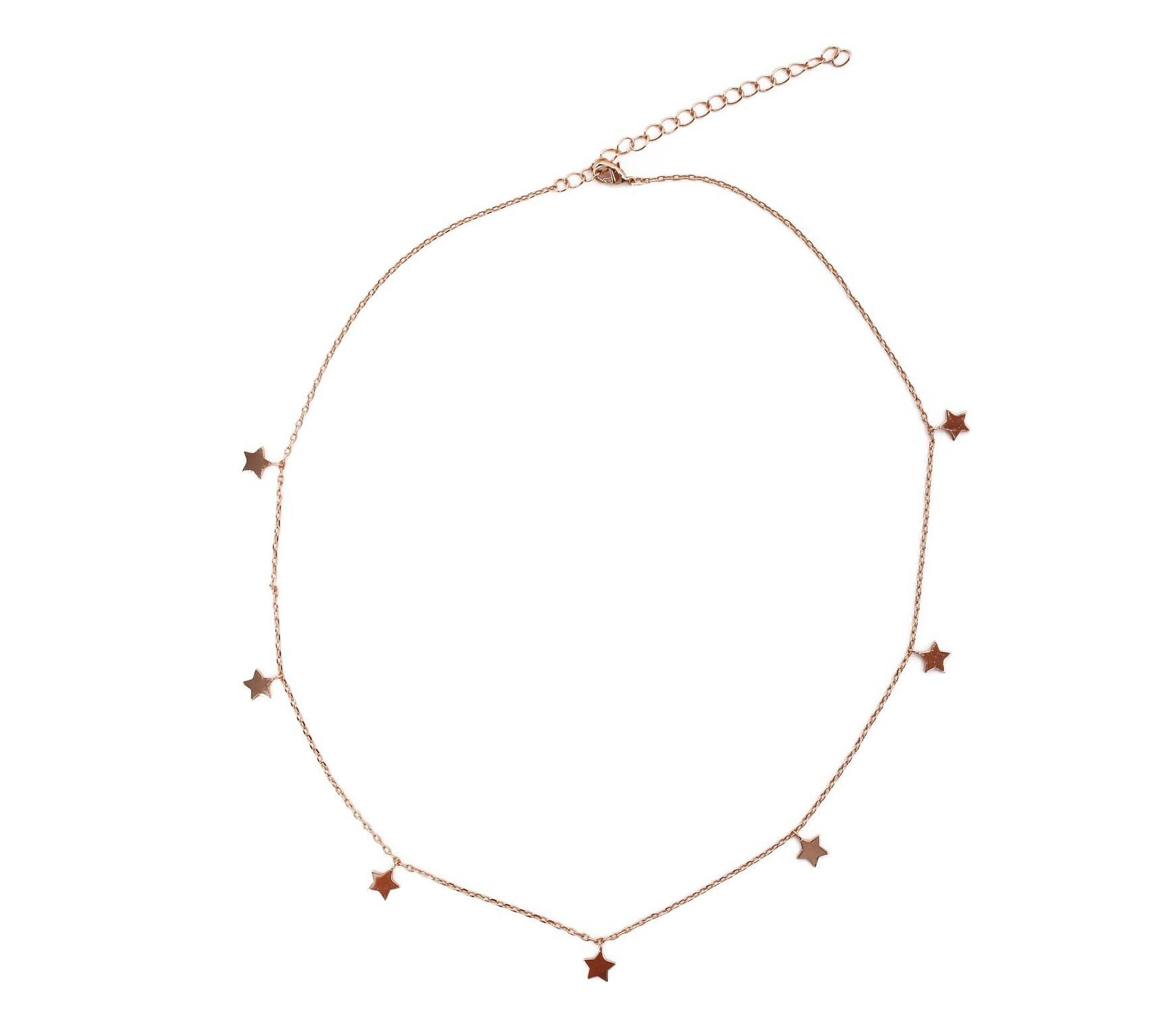 Star Charm Necklace - Gold