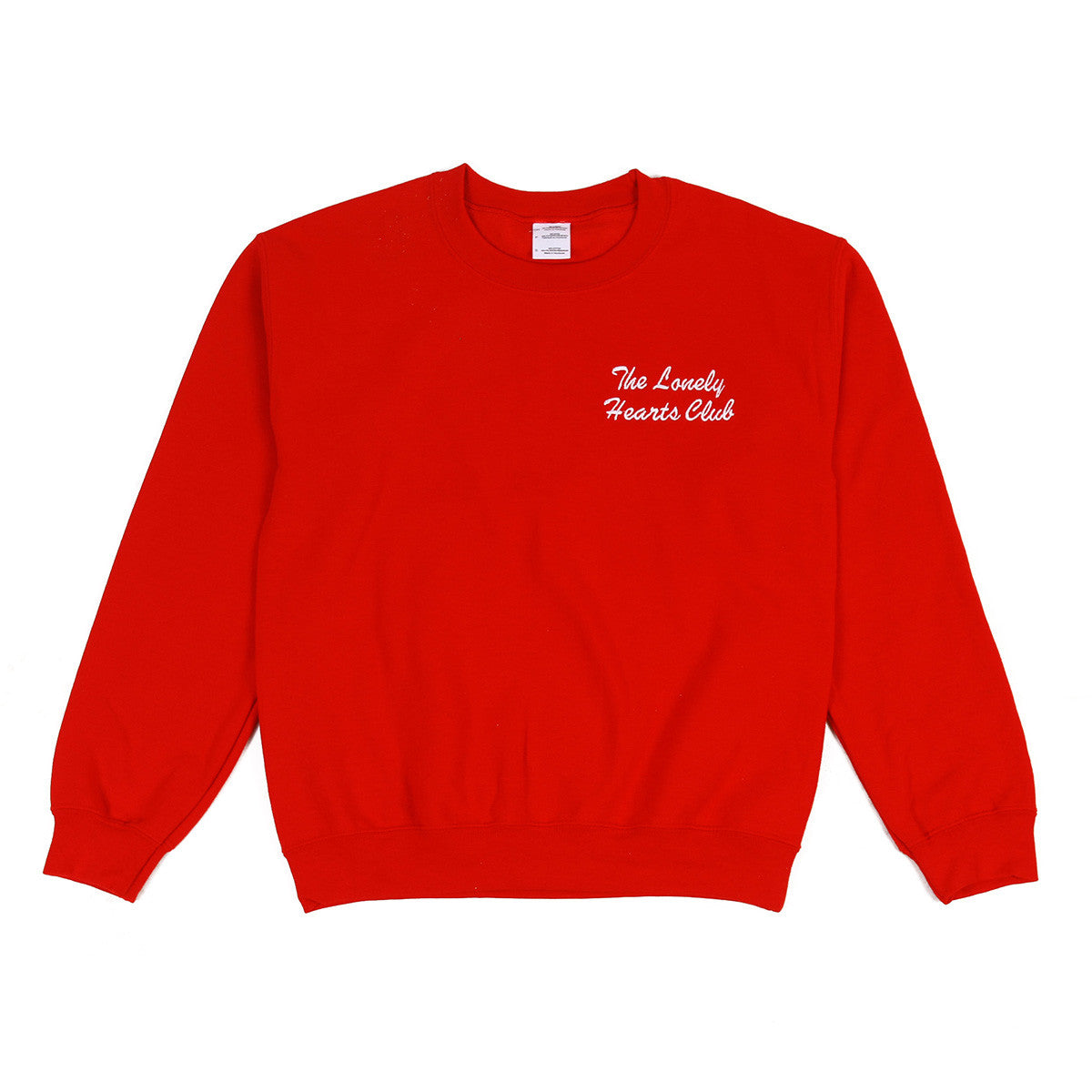 The Lonely Hearts Club Jumper - Red