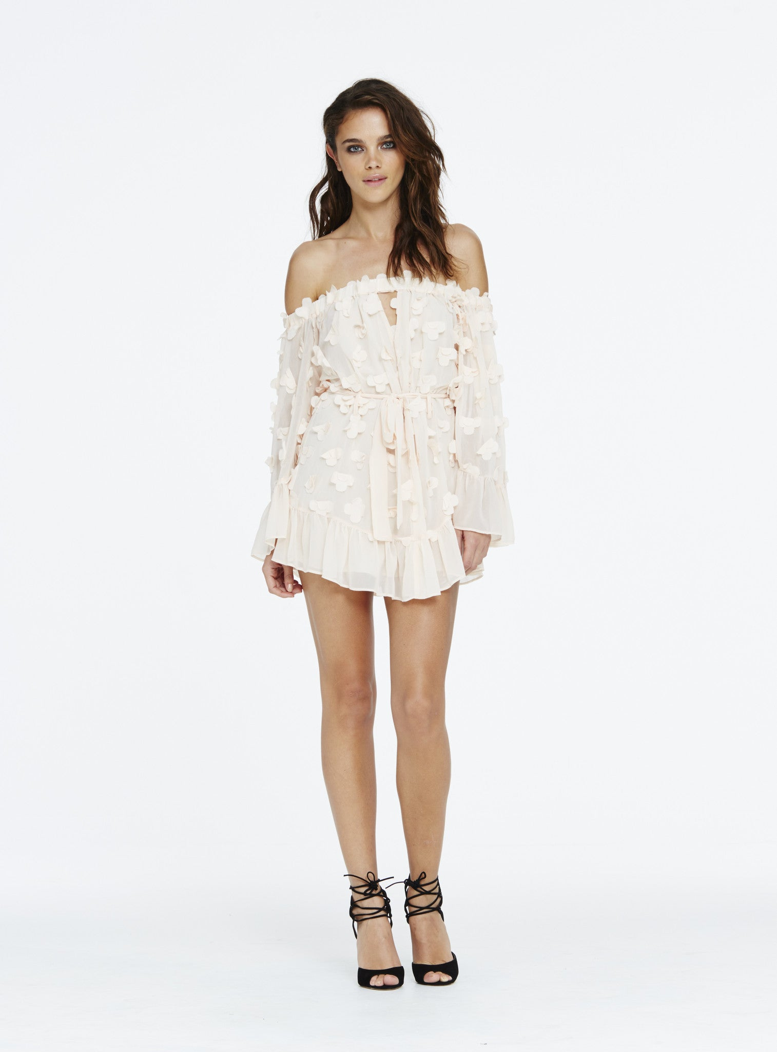 Pastime Paradise Playsuit - Blush