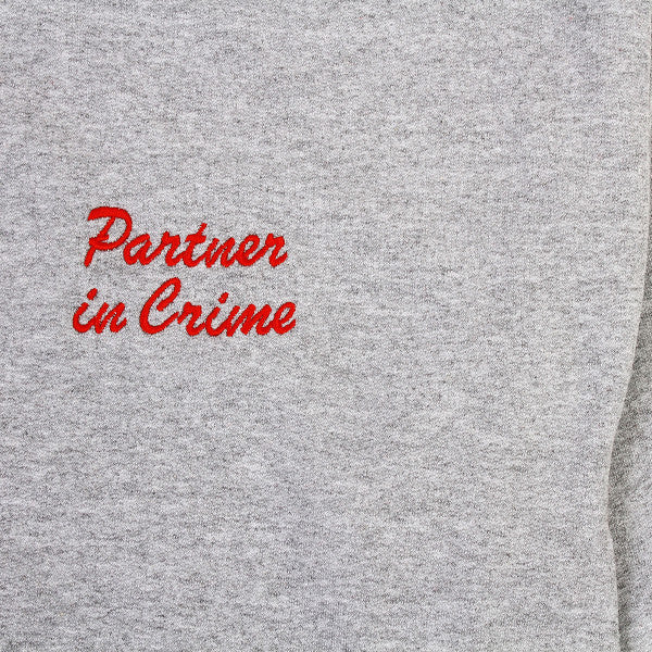 Partner In Crime Jumper - Grey