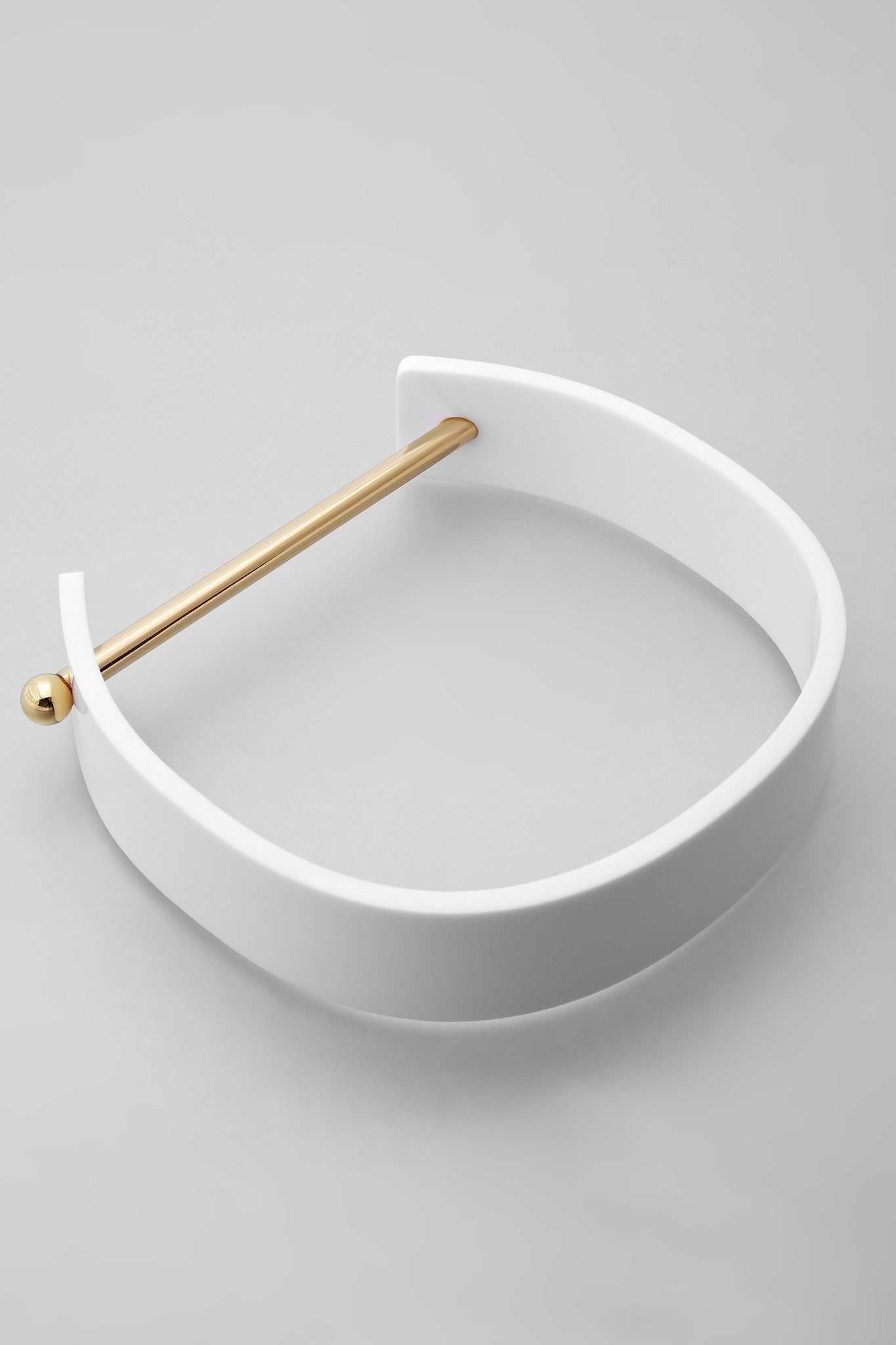 Alpha Collar - Gold/White