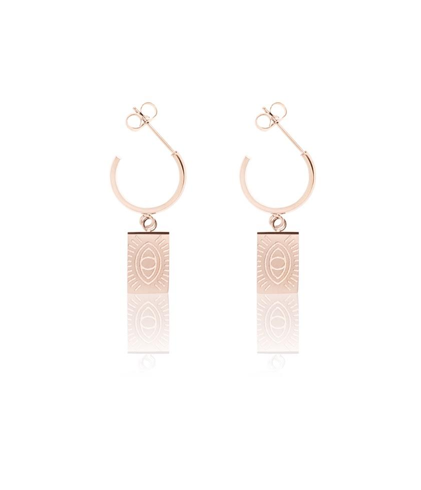 Protection Hoops - Rose Gold