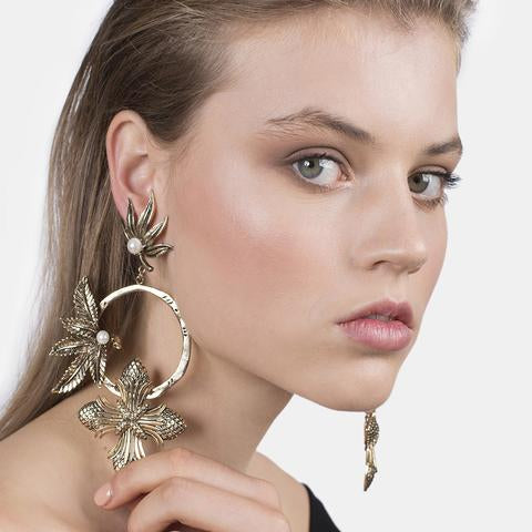 Aerialist Earrings - Gold