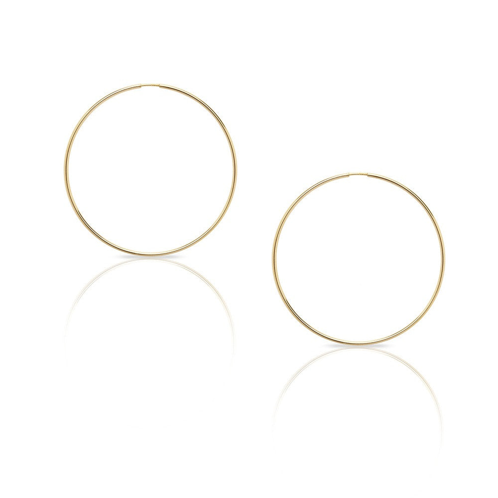 Classic Hoop Large - Gold