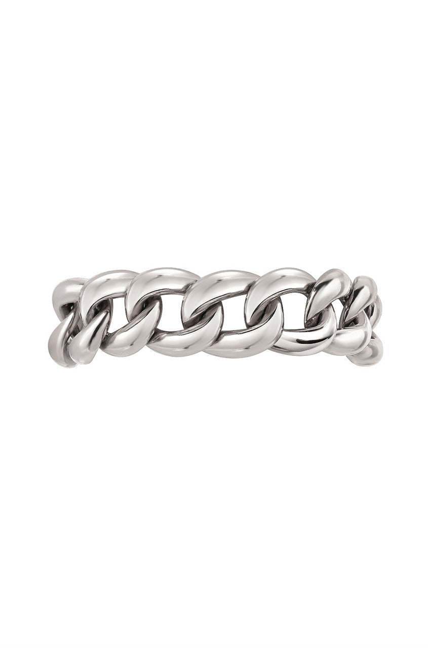 Cuban Link Ring - Gold, Rose Gold or White Gold