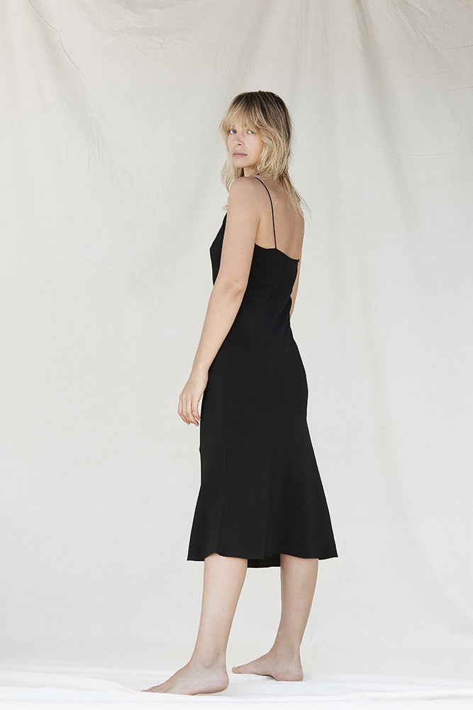 Silk Slip - Black