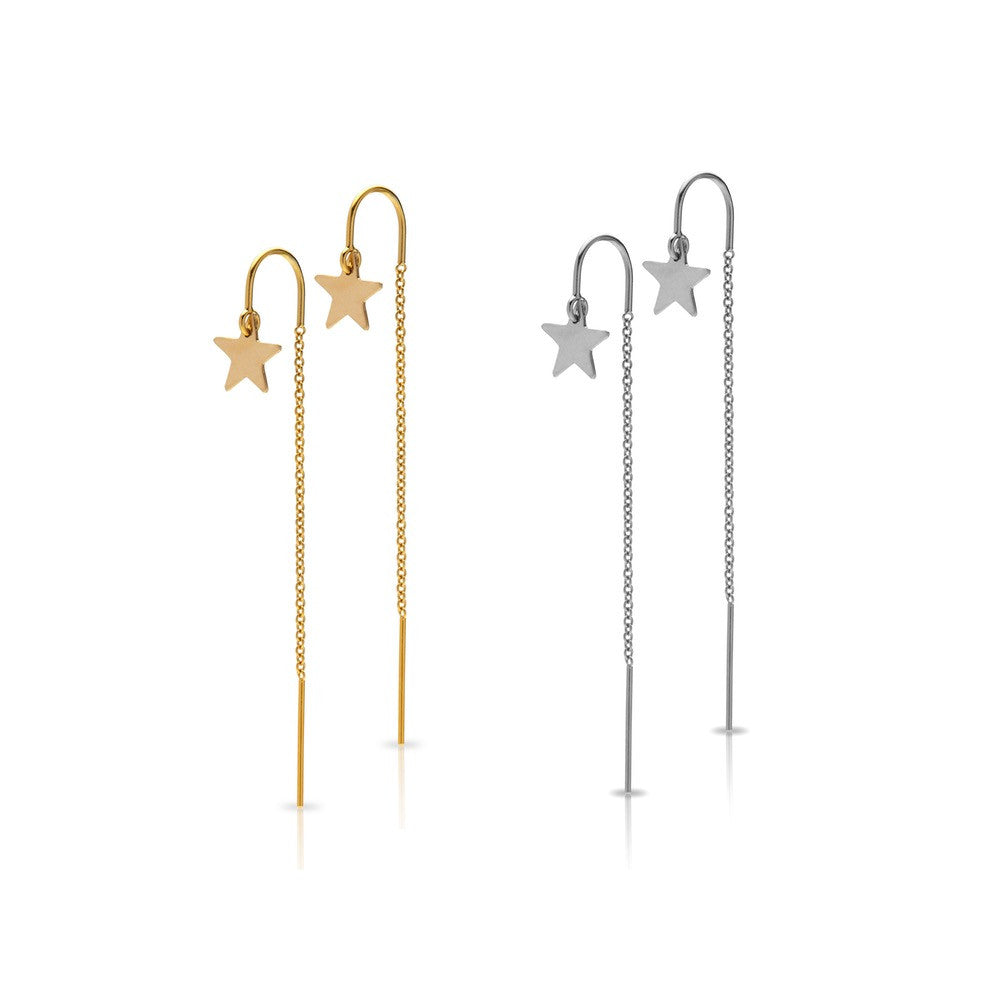 Stardrop Earrings - Gold
