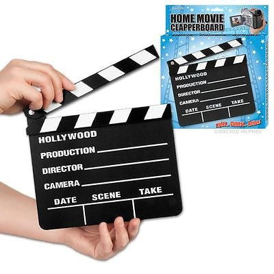 Hollywood Movie Slate Clapperboard Wood Novelty Director Film Play School by Accoutrements Archie McPhee