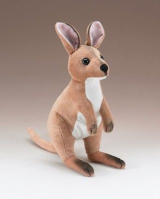 Australian Wallaby Plush Stuffed Plush Animal Toy Kangaroo by Wildlife Artists