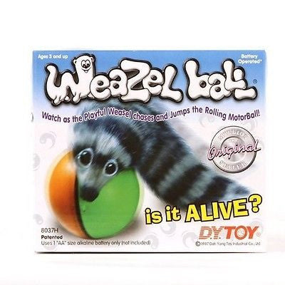 New Weazel Motor Ball AA Battery Operated Motion Toy Gift