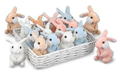 1 New Easter Bunny Plush Rabbit Stuffed Animal * Baby Safe * by Melissa & Doug