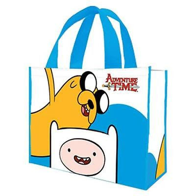 Adventure Time Large Shopping Eco Tote Bag Reusable Shopper Cartoon Network Boys Gift