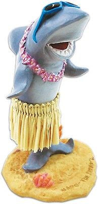 Hula Shark Dashboard Doll Hawaii Dancing Fish Animal with Sunglasses Car Dash