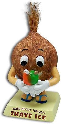 Coconut Shave Ice Dashboard Doll Bobblehead