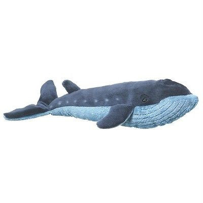 Blue Whale Toy Plush 12 inches Stuffed Animal by Wildlife Artists