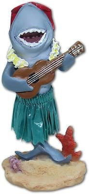 Hula Shark Mini Dashboard Doll with Ukulele 4 inch