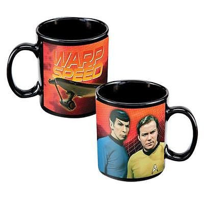 New OT Star Trek 12 oz Ceramic Coffee Mug Cup Ounce Collectible with Gift Box