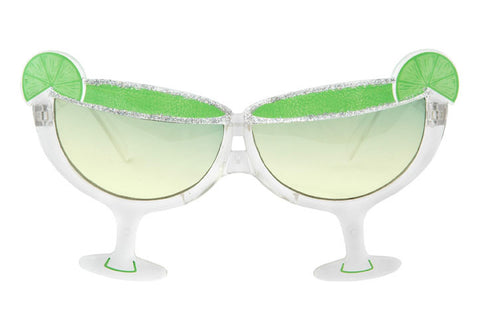 Green Margarita Cocktail Party Eye Glasses