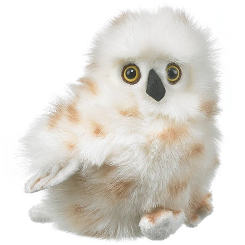 Arctic Snowy Owl Toy Bird 7 Inch Plush Stuffed Animal by Wildlife Artists