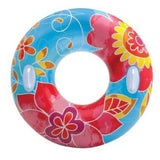 1 New Groovy Tube Intex Ride-On Inflatable Pool Toy Swim Float Beach River Fun