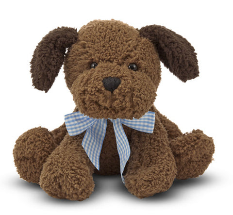 Meadow Medley Puppy Dog with Sound Chocolate Lab Plush Stuffed Animal by Melissa & Doug