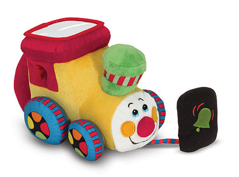Choo Choo Locomotive with Sound Plush Train Baby Learning Toy Melissa & Doug