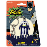 Batman Bendable Flexible Key Chain Classic TV Series Keychain
