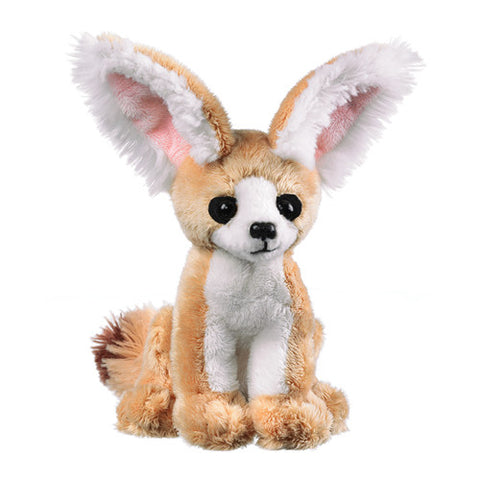 Little Fennec Fox Desert Animal Plush Small Stuffed Toy Wildlife Artists