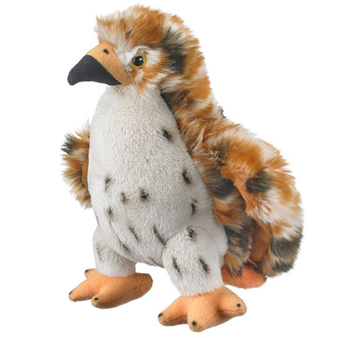 Red Tailed Hawk Plush Toy Small Brown Tail Bird Stuffed Wildlife Artists