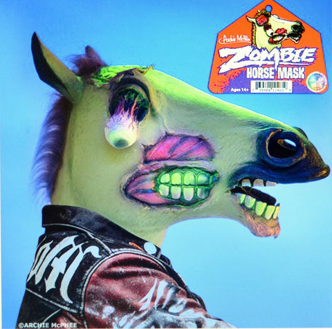 Glow in the Dark Zombie Horse Mask by Accoutrements Archie McPhee