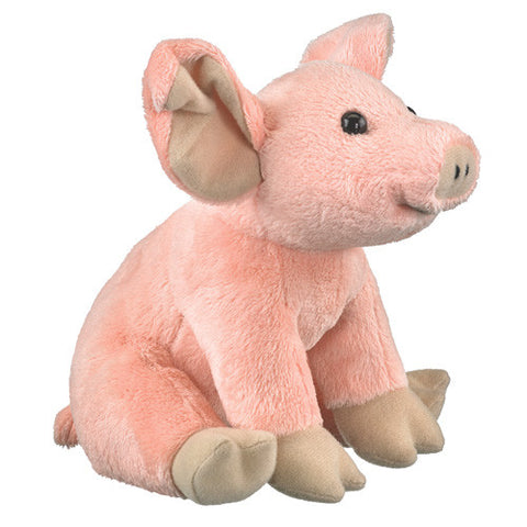 Cute Little Pig 8 Inch Plush Stuffed Animal Farm Critters Toy by Wildlife Artists