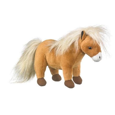 Pretty Shetland Pony Toy Plush Stuffed Animal Wildlife Artists Gift Horse