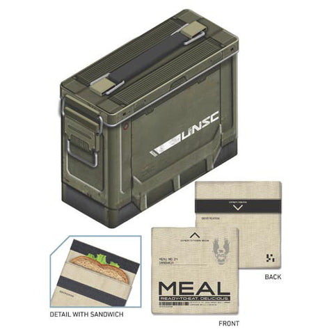 Halo XBOX Metal Ammo Crate Lunch Box