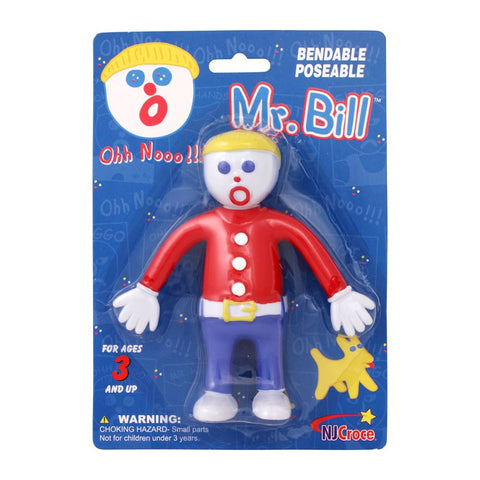 Mr. Bill Bendable Toy Figure Saturday Night Live Officially Licensed SNL Doll by NJ Croce
