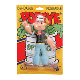 Popeye the Sailor Man Bendable Toy Figure TV Classic Cartoon Toy by NJ Croce