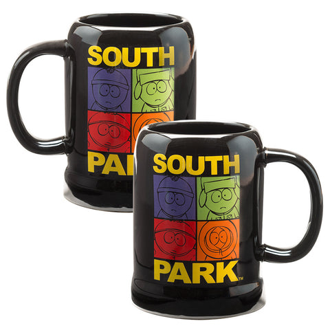 South Park 20 oz Ceramic Stein Coffee Mug Cup Ounce Collectible in Gift Box